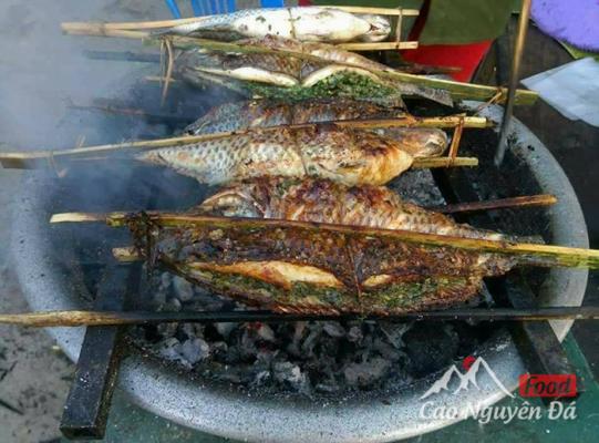Khám phá món Cá Nướng Pa Pỉnh Tộp ở vùng núi Tây Bắc